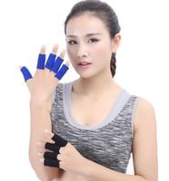 Дизайн женщины мужчины 2019 нейлон здравоохранения fingerguard баскетбол fingerguard набор из 10 спортивных протекторов Спорт безопасности упражнения дышащий