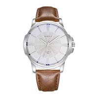 Semplice versione coreana del quadrante grande orologio da uomo d'affari di moda Nuovo orologio da uomo e da tavola regalo da tavola