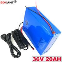 Batería eléctrica de gran alcance de la batería 36v 20ah E-bike 36v + 2A Batería de litio del cargador 36V para Bafang 500W 800W Envío libre