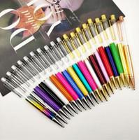 은색 골든 파트 블루 블랙 잉크 특히 럭셔리 펜 GB1612와 DIY 빈 배럴 선물 펜 볼펜