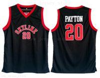 High School Gary Payton Jersey 20 Men Black Basketball Skyline Jerseys Cheap Sale Top Quality University For Sport Fans Breathable