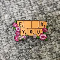 달콤한 신선한 장미 꽃 클러스터 키보드 에나멜 핀 패션 생활 옷깃 핀 배지 백팩 데님 재킷 브로치 선물 친구