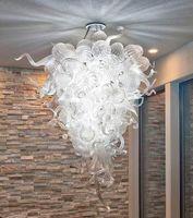 Lampe Moderne Kristall Kronleuchter Beleuchtung Kunst Dekoration Blase Pendelleuchte Stil Hand Geblasenes Glas Kronleuchter