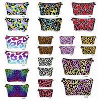 3D-Leopard druckt kosmetische Beutel Reisen bewegliches Digital Printing Makeup Handtasche Speicher-Beutel-Organisator-Spielraum-Beutel-Wash Taschen RRA3393