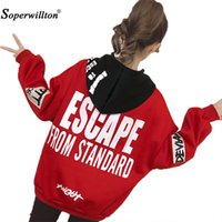 2XL Women Pullover Sweatshirts Harajuku Hoodie New Loose Hoo...