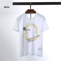 2019SS Simple creative design Print cotton T Shirts Men'...