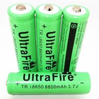 batteria al litio 8800mAh 3.7V 18650 può essere utilizzato in torcia luminosa carica Po, ecc .. Free shipping