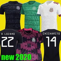 2020 2021 Mexico Home Soccer Jersey Away 20 21 kit CHICHARIT...