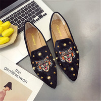 moda Loafer Scarpe Donna Ballerine slittamento casuale sui panno singolo scarpe a punta Moda donna Scarpe Espadrille regalo per la ragazza