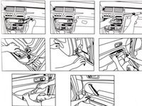 Авто Автомобиль Радио Панель Двери Клип Панель Отделка Тире Аудио Удаления Установщик Монтировку Ремонт Инструмента