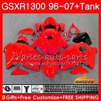 Suzuki Hayabusa GSXR 1300 GSXR1300すべての赤いライト96 97 98 99 00 01 07 24HC.101 GSX R1300 1997 1997 1998 1998 1999 2000 2007フェアリング