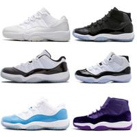 Mens Marca basquete sapatos 96 Número 45 Legenda azuis 11s Marinha meia-noite XI Win como esportes tênis sapatos de grife 82 Concord 23 sapatos