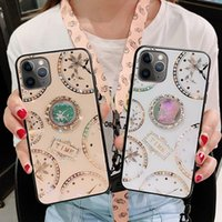 For iPhone 11 Pro Max Luxury Diamond Clock Pattern Phone Cas...