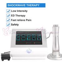 Venta caliente Máquina de terapia de ondas acústicas para el tratamiento del alivio del dolor de espalda. / Terapia física de la sala de choque para el tratamiento de la disfunción eréctil