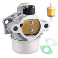 12-853-140-S karbüratör karbon uyuyor KOHLER 12-853-77-S 12-853-17 12-853-35 ch CV serisi motorlar için conta setleri ve yakıt filtresi ile