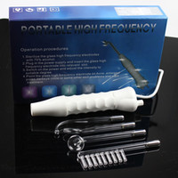 Machine de beauté à haute fréquence portative de traitement d'acné de machine de masseur de tache de peau de peau de soin de visage de soins faciaux