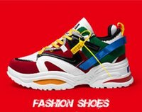 Running shoes men' s mixed color designer men' s bre...