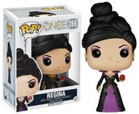 New FUNKO POP C'era una volta REGINA vinile Action Figures 268 # 2019