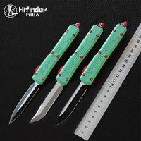 Hifinder D2 Blatt 6061-T6 Aluminium-Griff Camping Überleben im Freien EDC Jagd taktischen Werkzeug Abendessen Küchenmesser
