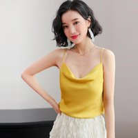 Gkfnmt Women Tank Top 2020 New Summer Sexy Sleeveless Faux S...
