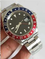 2019 BP Factory Última Versión 1675 Vintage Relojes de lujo 40 mm Dial negro Asia 2813 Movimiento Automático Relojes para hombre de alta calidad