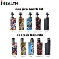 Autêntico Vapor Tempestade ECO Pro kit Com ECO BOX MOD (sem Bateria) Falcão Tanque / Leão RDA DHL grátis
