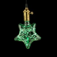 Star Green 3W Creative Edison Light Bulb Vintage Decoration ...