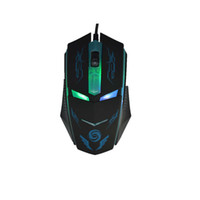 K2 Usb Wired Gaming Mouse 3 Botones 1600Dpi Mute Optical Mouse Ratón de la computadora para PC Portátil Notebook Game Gamer