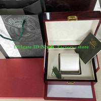 Free Shipping Luxury Watch Original Box Papers Wood gift Boxes Handbag Use 15400 15710 Swiss 3120 3126 7750 Watches Use