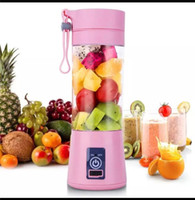 380ml usb rechargeable portable blender mixer 6 blades juice...