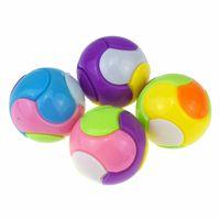 어린이 DIY 조립 조합 솔리드 컬러 볼 (6) 토론 지능 볼 트위스트 계란 재미 계란 선물 M2140