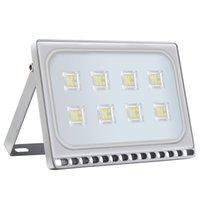 50W LED-Flutlicht-Sensor-wasserdichtes IP65 im Freienlicht 110-120V Freier kühlen weißen LED-Projektorlampe Hausgarten-Sub Außen Balkon Lampz