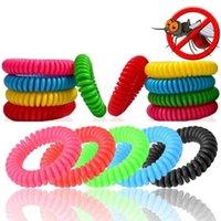 Multicolor дезинсекция Браслеты против комаров браслеты насекомых Защита кемпинга Открытый Взрослые Дети Mosquito убийца R0903