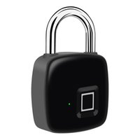 Empreinte digitale intelligente CADLOCK SAFE CHARGEMENT USB Rechargeable Verrouillage étanche Serrure anti-vol Security Cadlock Verrouillage de la bagagerie