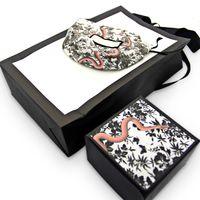 تعيين العلامة التجارية الشهيرة سوار نمط ثعبان وقلادة مربع الأصلي العلامة التجارية حقائب مجوهرات هدية مربع الشحن المجاني