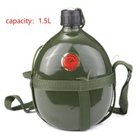 1. 5L Sport Outdoor Canteen Portable Aluminum Water Bottle Cy...