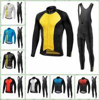 6f79810fe MAVIC Team Cycling Winter Thermal Fleece Jersey Hot Sale New Winter ...