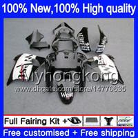 Body For KAWASAKI ZX-9R ZX900CC ZX 9R 9 R 900 2000 2001 2002 2003 216MY.18 ZX900 ZX9 R 900CC ZX9R 00 01 02 03 Black west Full Fairing