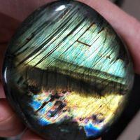 Natural specical cristal Moonstone polido Labradorite Quartz Specimen Pedra 30-50G