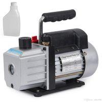 Einstufig 4CFM 1 / 3HP Drehschieber-Vakuumpumpe Tief HVAC AC Luftwerkzeug R134 R410a