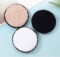 12 centímetros * 1,5 centímetros macio microfibra Removedor de maquiagem Rosto Toalha Cleaner Plush Puff reutilizável limpeza de pano Pads fundação da face Pele Ferramentas Cuidados DHL