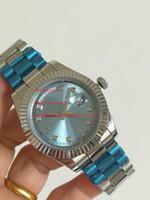 고품질 손목 시계 새로운 도착 41mm 228238 아시아 2813 운동 자동 망 남성 시계 시계