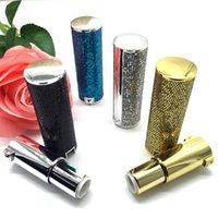 10/30 / 50PCS 12,1 millimetri lucido Vuoto tubo del rossetto, elegante becco del contenitore, di plastica fai da te Lip attrezzo di bellezza, contenitori cosmetici