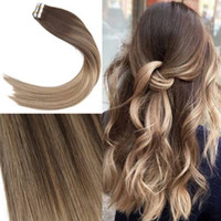 Free Shipping 14- 24inch Balayage Tape in Hair Extensions 50g...