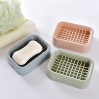 caixa de sabão grade dreno prática sabão 10 cores sólidas fontes do banheiro resistentes ao desgaste frete grátis simples criativo