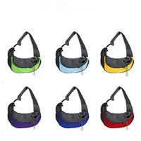 Pet Sling Carrier Small Dog Cat Sling Bag for Travel Front P...
