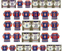 Vintage Edmonton Oilers Jersey 10 Esa Tikkanen 9 ULLMAN 14 Glen Sather 1 EDDIE MIO 12 DAVE HUNTER 3 AL HAMILTON 39 Doug Weight CCM hockey