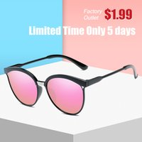 Cateye Sunglasses Women Vintage Gradient Glasses Retro Cat e...