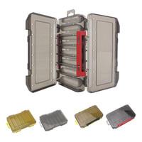 내구성 오징어 지그 미끼 박스 낚시 미끼는 소품 컨테이너 12/14 구획 케이스 홀더 낚시 태클 박스 PESCA 후크