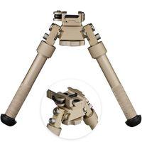 2019 New BT10-LW17 V8 Atlas 360 Grad Adjustable Precision Bipod QD-Einfassung für die Gewehr-Jagd Berg Dark Earth DE
